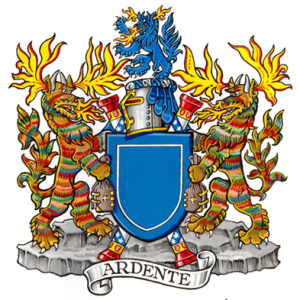 Dr Claire Boudreau's Achievement of Arms